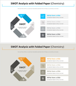 접힌 종이 다이어그램을 사용한 SWOT 분석 (화학)_00