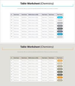 테이블 워크 시트 다이어그램 (화학)_00