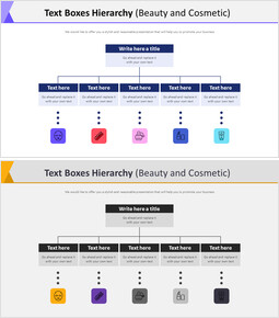 Text Boxes Hierarchy Diagram (Beauty and Cosmetic)_00