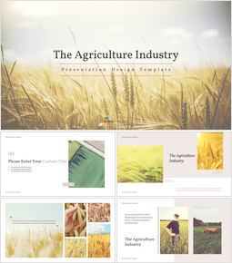 The Agriculture Industry Background PowerPoint_00