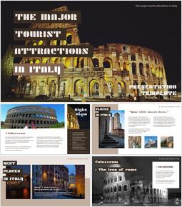 이탈리아의 주요 관광 명소 Google 프레젠테이션 템플릿_00