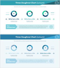 3 개의 도넛 형 차트 (레저)_00