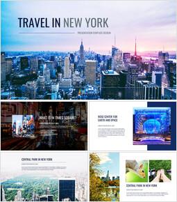 뉴욕 여행 Google 슬라이드 테마 & 템플릿_00