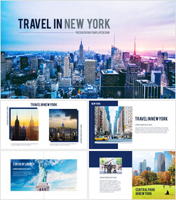 Travel in New York premium PowerPoint Templates_00