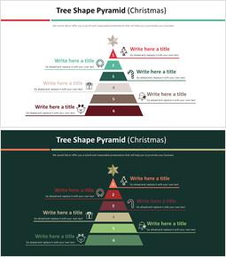 나무 모양 피라미드 다이어그램 (크리스마스)_00