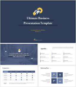 Ultimate Business Simple Template Keynote to PPT_15 slides