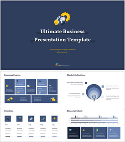 Ultimate Business Simple Template PPT Templates Simple Design_15 slides