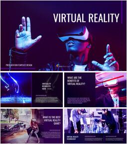 Realtà virtuale (VR) Google Slides Interactive_00