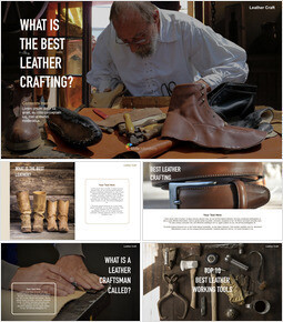 What Is The Best Leather Crafting Keynote PowerPoint_00