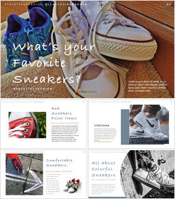 What's your favorite sneakers? PPTX to Keynote_40 slides