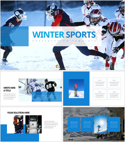 Winter Sports Easy Presentation Template_00