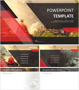 Buddhism - PPT Design Free_6 slides