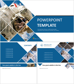 Free PowerPoint Template Download - Spaceflight_00