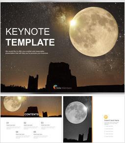 보름달 - Free 프레젠테이션 템플릿_6 slides