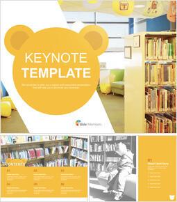 Keynote Free - A Library for Children_6 slides