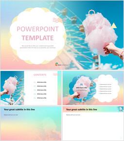 PowerPoint Templates Free Download - Amusement Park_00