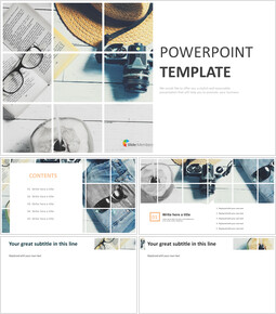 PowerPoint Templates Free Download - Chilled Weekend_00