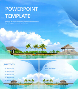 PPT Design Free Download - Summer Resort_00