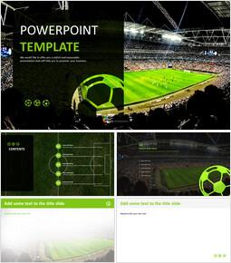 Soccer Big Match - Free PPT Presentations_00
