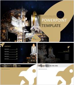 우주선 - 무료 디자인 템플릿_00