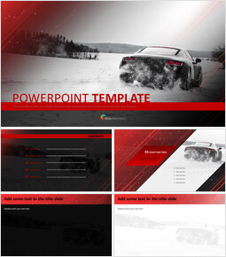Vehicle over Snow - Free Template Design_00
