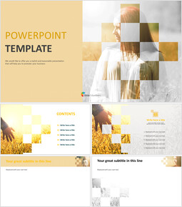 Warm Autumn - Free PPT Template Design_00