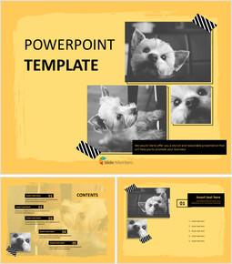 Yorkshire Terrier - PPT Design Free_00